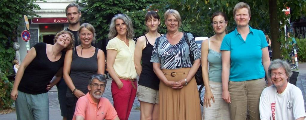 Freiwillige beim Sommerfest 2013