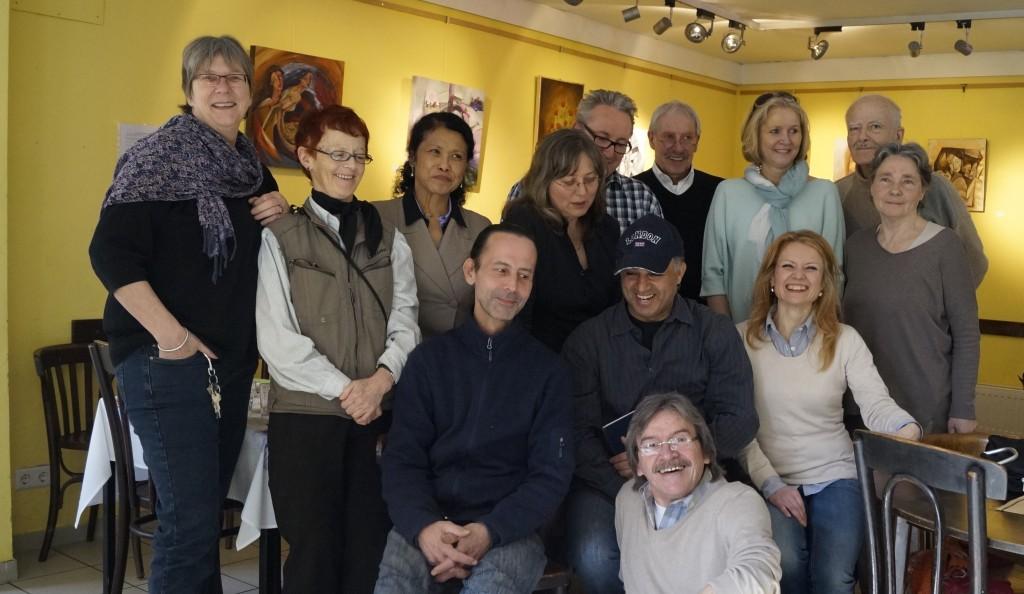 Voll integriert: Manfred und das Team des Kulturladens
